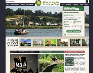 Lancement du nouveau site des Gîtes de France du Loir et Cher