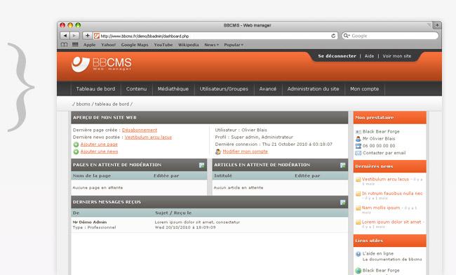 Testez la nouvelle version de notre CMS