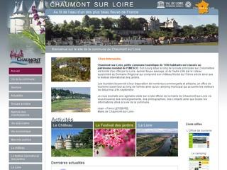 Lancement du site de la commune de Chaumont sur Loire