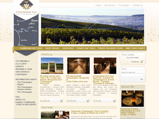 Lancement du site France Bubbles Tours
