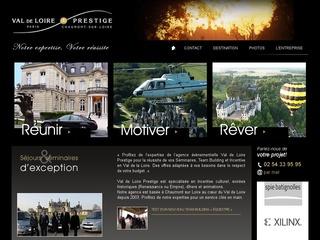 Lancement du site Séminaires Val de Loire