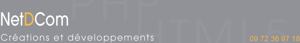 NetdCom prestataire en création de site internet